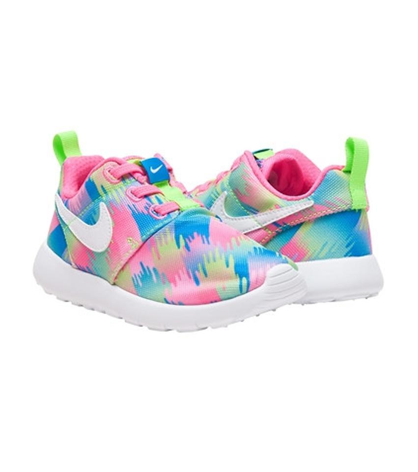 deccf79f084 Nike Multi Color Youth Roshe One Print Sneakers Size US 6 Regular (M ...