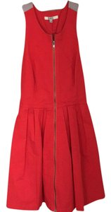 BB Dakota short dress Red with touch of silver on Tradesy