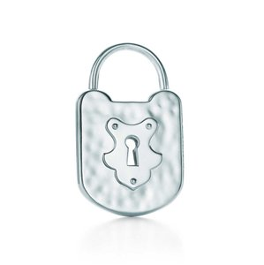 Tiffany & Co. Tiffany Silver Vintage Lock Charm Medium