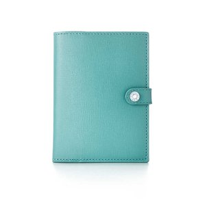 Tiffany & Co. Tiffany Blue Leather Passport Cover