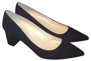 Kate Spade Suede Black Flats