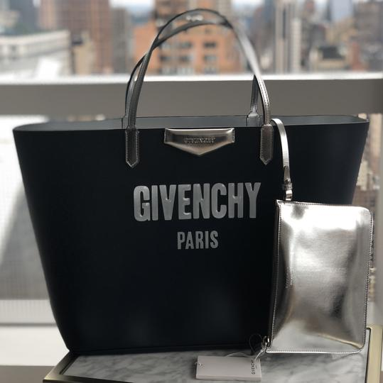 Givenchy Bags Logo Classics Logo Tote in Navy Image 1