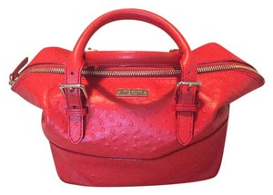 Kate Spade Gold Hardware Tote in Red