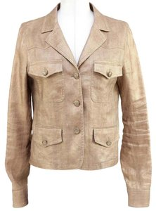 Chanel Metallic Gold Blazer