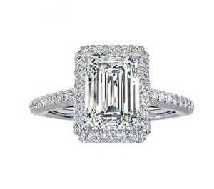 Other Emerald Cut CZ Diamond