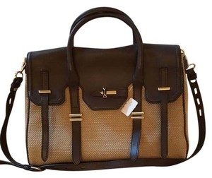 Rebecca Minkoff Satchel in Brown/Tan