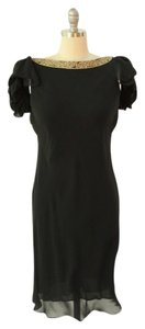 Notte by Marchesa Embellished Silk Dress