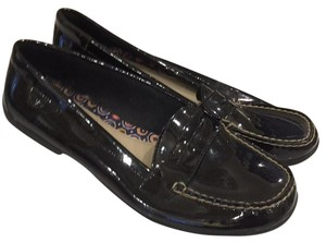 Sperry Black Patent Flats
