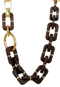 Diane von Furstenberg Diane von Furstenberg Twigs and Links Geometric Necklace
