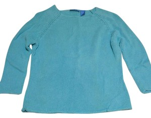 dELiA*s Crochet Knit 3/4 Sleeve All Seasons Sweater