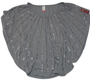 No Boundaries Top Grey, Silver