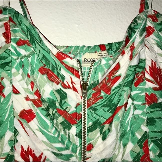 Roxy short dress Mint Honolulu Floral Hawaii Tropical Bright on Tradesy Image 3