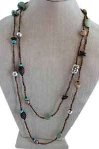 Silpada Multi stone Boho Necklace N1569