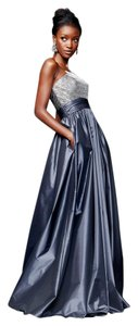 Theia Taffeta Ball Gown Gown Strapless A-line Dress