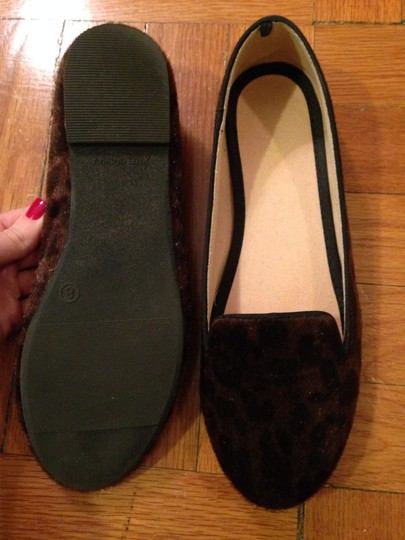 old navy leopard loafers