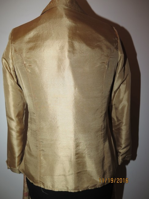 Other 5 pieces Silk Gold Skirt Suit Image 3