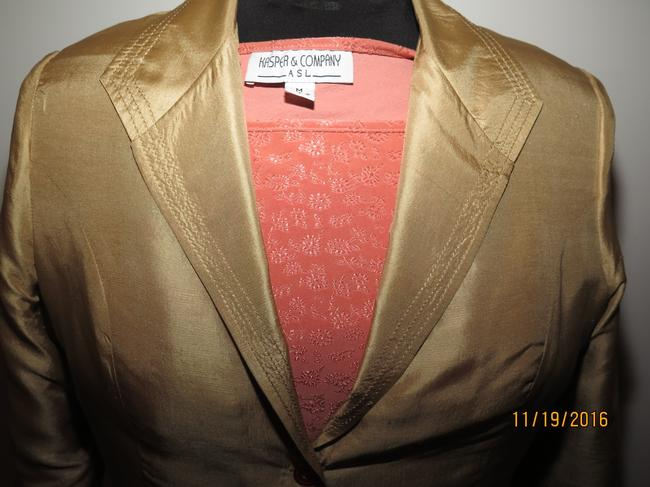 Other 5 pieces Silk Gold Skirt Suit Image 6