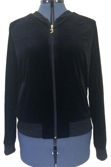 Preload https://img-static.tradesy.com/item/20126086/juicy-couture-black-velvet-bomber-sweatshirthoodie-size-12-l-0-1-650-650.jpg