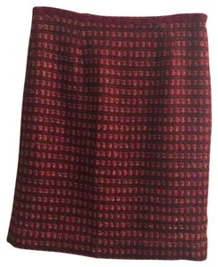 Tory Burch Skirt Cranberry