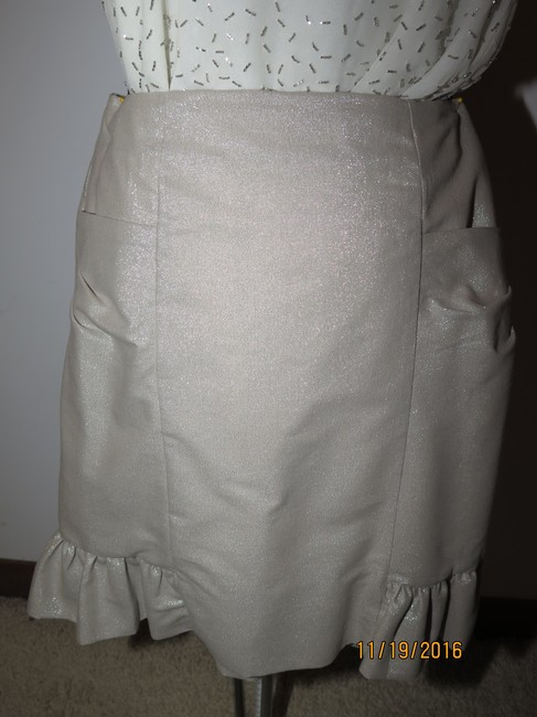 Other 3 piece faux leather jacket beaded top handmade skirt Image 8