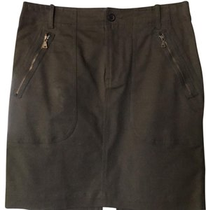 Club Monaco Skirt Green
