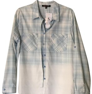 Jealous Tomato Button Down Shirt Chambray