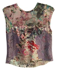 Nicole Miller Date Night Top multi color