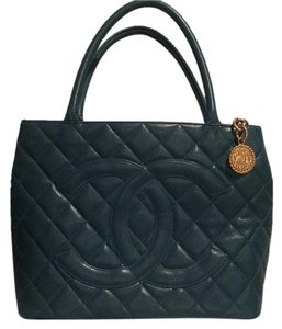 Chanel Tote in Turquoise