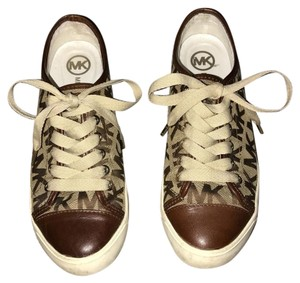 Michael Kors Dark Brown & Tan Athletic