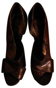 Carlos by Carlos Santana Snake brown Formal