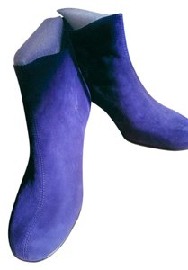 Aerosoles Comfortable Suede Ankle New Rubber Outsole dark blue Boots
