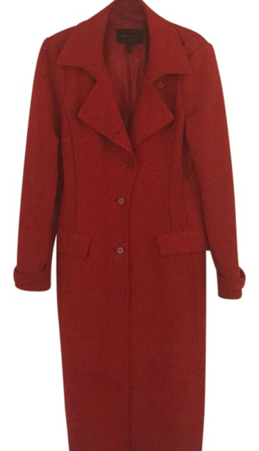 Item - Red Wool Coat Size 12 (L)