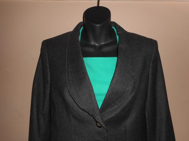Escada Wool Charcoal Grey Blazer Image 1