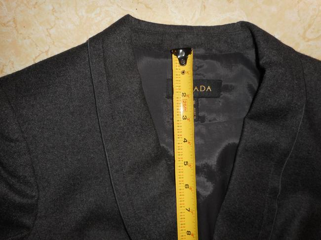 Escada Wool Charcoal Grey Blazer Image 3