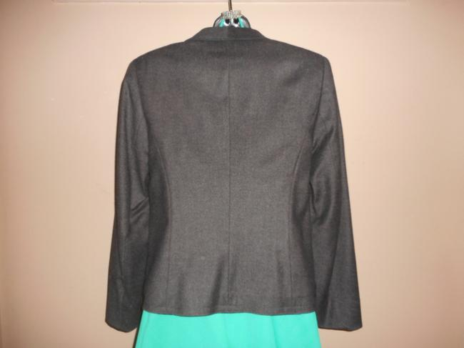 Escada Wool Charcoal Grey Blazer Image 9