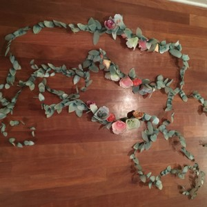 Anthropologie Multicolor Bhldn Floral Garland Reception Decorations
