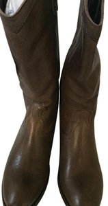 Frye Western Quality Designer Smoke Antique Boots