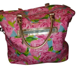 Lilly Pulitzer Hotty Pink Travel Bag