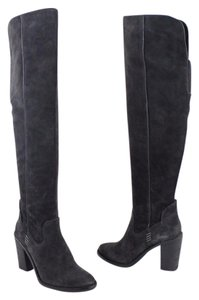 Dolce Vita Over The Knee Boot Grey Boots