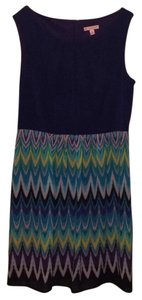 Dress Barn short dress Blue on Tradesy