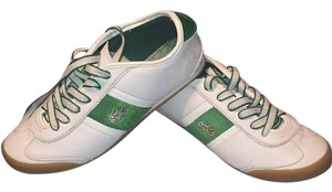 Lcoste Green & White Athletic