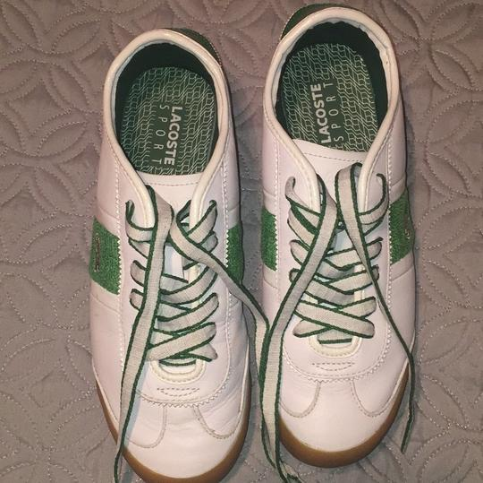 Lcoste Green & White Athletic Image 1