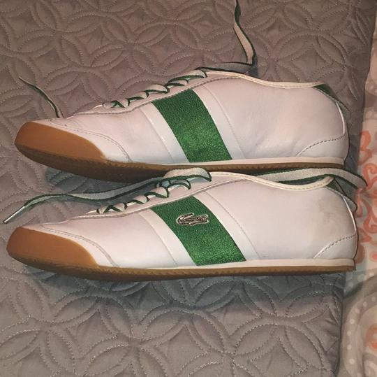 Lcoste Green & White Athletic Image 6