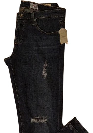 b108a14d best AG Adriano Goldschmied Stevie Ankle From Anthropologie Skinny Jeans -  37% Off Retail