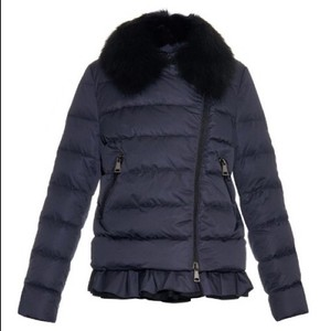 Moncler Size 5 Black Jacket