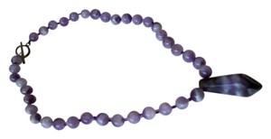 Amy's Gem African Amethyst Gemstone Necklace