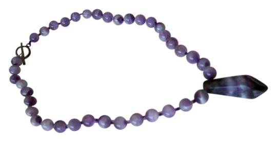 Amy's Gem African Amethyst Gemstone Necklace Image 0