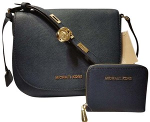 Michael Kors Wallet Leather New With Cross Body Bag
