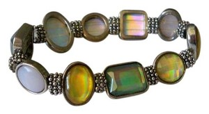 Amy's Treasure Box Beautiful Multi Color Gem Stretch Bracelet
