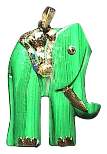 Preload https://item4.tradesy.com/images/yellow-gold-elephant-malachite-14k-pendant-2012723-0-0.jpg?width=440&height=440